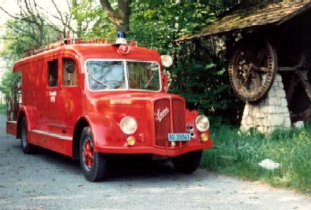 Feuerwehr Autospritze